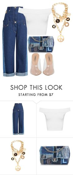 """""""Untitled #41"""" by nelaantonella ❤ liked on Polyvore featuring Natasha Zinko, WearAll, Moschino and Chanel"""