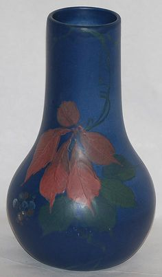 Weller - Weller Pottery was founded by Samuel Weller in Fultonham, Ohio, United States in 1872.  The initial products produced by Weller included flower pots, crocks, bowls, and vases.