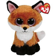 Ty Beanie Boos Slick The Brown Fox Plush Listing in the Ty Beanie Babies,Beanies & Beanbag,Dolls & Bears Category on eBid United States Ty Beanie Boos, Beanie Babies, Big Eyed Stuffed Animals, Fox Stuffed Animal, Plush Animals, Cute Animals, Animals Dog, Peluche Lion, Ty Babies