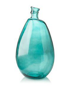 """Glass 18"""" Vase, Teal, http://www.myhabit.com/redirect/ref=qd_sw_dp_pi_li?url=http%3A%2F%2Fwww.myhabit.com%2F%3F%23page%3Dd%26dept%3Dwomen%26sale%3DA135I7MCZ81VA9%26asin%3DB00BZR36I0%26cAsin%3DB00BZR36I0"""