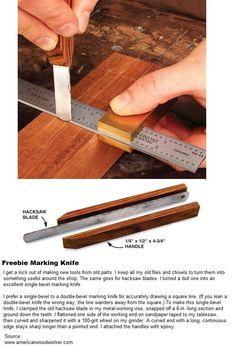 Freebie Marking Knife