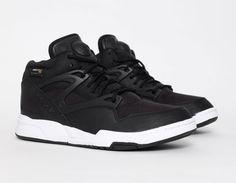 #Reebok #Pump Omni Lite Cordura Black #Sneakers