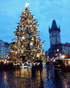 #Fbf Rainy Christmas Day in Prague  Merry Christmas and may God continue to bless you all more and more | Old Town Square, Prague, The Czech Republic  Días lluviosos en Praga  Feliz Navidad a todos y que Dios te bendiga más y más cada día.  #WhenInTheCzechRepublic #WhenIn #CzechRepublic # #ChristmasInEurope #Christmas #ChristmasMarkets #FelizNavidad #Bucketlisting #LetsGoOnALivingSpree #letsseetheworld #LiveALittle #LifeInColor #WhereToNext #Praga