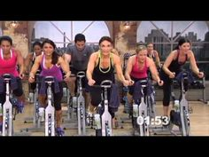 Video Clip of Cathe Friedrich's Pedal Power workout DVD