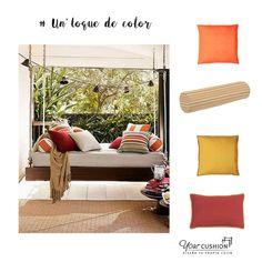 Acabamos la semana con una idea #DIY perfecta para tu aprovechar tu #jardin o #terraza 🌿🌱🍃. Diviértete diseñando un espacio para toda la #familia. En www.yourcushion.es podrás crear tus cojines y colchonetas de exterior a medida, combina colores, estampados y formas de cojines para conseguir un espacio acogedor y cómodo para disfrutar del buen tiempo. ¿Una #siesta?  #Ideasdeco #Cojinesamedida #Tardedeverano #siesta #Ideasjardin#Outdoor #Outdoordeco #Terrazaconencanto #Julio