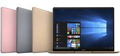 Huawei lanseaza Matebook X, D si E cu Windows 10