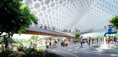 Google's future campus looks like a sci-fi utopia | PCWorld