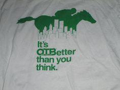 OTB New York City Horse Racing Shirt vintage 90s large #ScreenStarsBest #GraphicTee