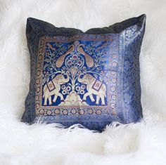 These Beautiful Bohemian Decorative Pillow Covers are gorgeous to accent with your Lady Scorpio Mandalas, or even add to your current home decor! Indian Tapestry, Silk Brocade, Decorative Pillow Covers, Elephant, Throw Pillows, Bedroom Inspiration, Scorpio, Lady, Shop