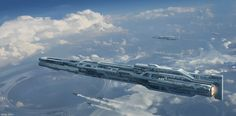 ArtStation - Spaceship+Process, Marco Gorlei