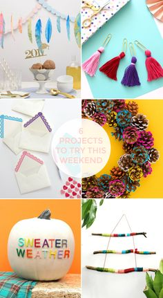 FRIDAY FAVOURITES #35 Feather Garland, Diy Tassel, Gold Paper, Diy Party, Fall Crafts, Fall Decor, Projects To Try, Friday, Youtube