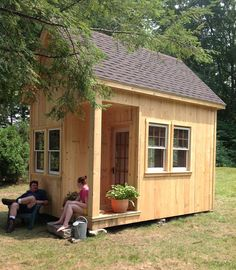 Tiny House Listings: Tiny Houses For Sale and Rent, Granny Pods, Tiny House Swoon, Tiny House Cabin, Log Cabin Homes, Tiny House Design, Small House Plans, Small Log Cabin, Tiny Cabins, Log Cabins, Wooden Cabins