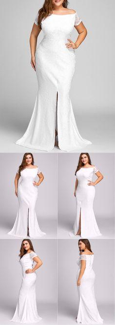 #PlusSize #Wedding #Dress
