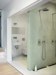 diving tiled wall