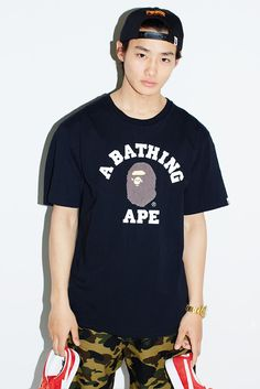 BAPE Shows Off Its SS16 Collection With Japanese Actor Shuhei Nomura #thatdope #sneakers #luxury #dope #fashion #trending
