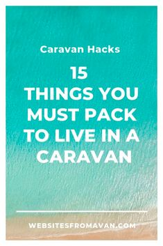 caravan hacks 569423946636869737 - 15 essential items you need to live in a caravan – Websites from a Van Source by Bus Life, Camper Life, Airstream, Living On The Road, Rv Living, Travel Oz, Caravan Hacks, Caravan Living, Travel Trailers