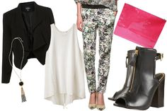 One way to wear floral pants...check out another way to style them on R29!