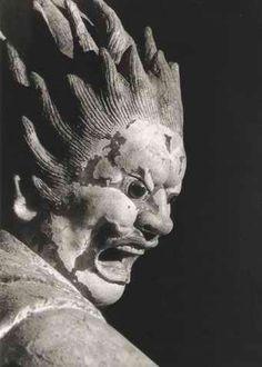 伐折羅大将 新薬師寺 Nara,Japan Budha Art, Japanese Buddhism, Buddhist Art, Japan Art, Sacred Art, Religious Art, Sculpture Art, Statues, Faces