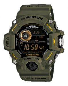 Casio G-Shock Rangeman - Casio - Watches - Brands