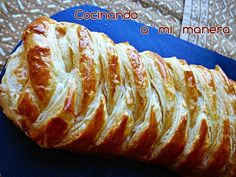 Ideas que mejoran tu vida Quiches, Seafood Recipes, Cooking Recipes, Canapes, International Recipes, Baked Potato, Salmon, Food And Drink, Bread