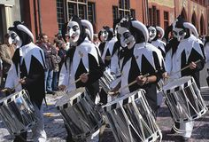 Fasnacht! The drumming jesters