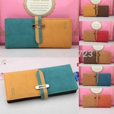 2014 new fashion lady women long purse clutch wallet high quality zip bag card holder-in Wallets from Luggage & Bags on Aliexpress.com | Alibaba Group