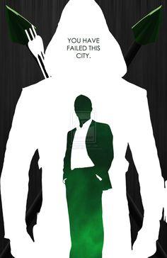 Minimalist Green Arrow DeviantArt - Visit to grab an amazing super hero shirt now on sale!