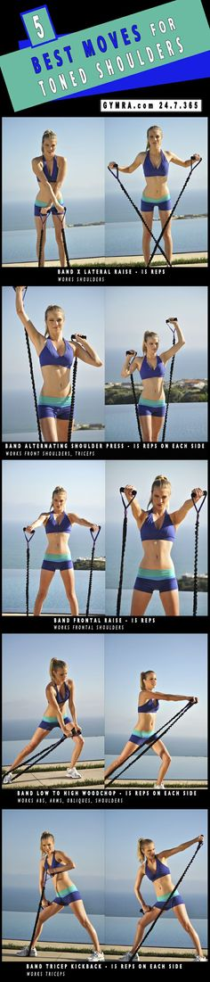 5 Best Moves For Toned Shoulders