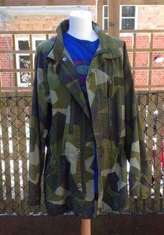 Vintage army jacket from Sweden EV49.