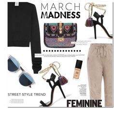 Untitled #1236 by makeupgoddess on Polyvore featuring Vetements, Brunello Cucinelli, Isabel Marant, Valentino, Christian Dior, Smashbox and Balenciaga