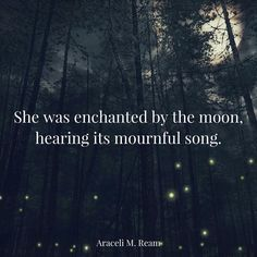 """Enchanted"" by Araceli M. Ream (10 word story)"