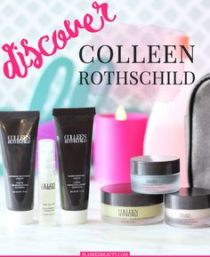 Mother's Day Gift Idea: The Colleen Rothschild Discovery Collection lets you sample the best of the brand for a lower price. Find out how get an extra 20% off! | Slashed Beauty
