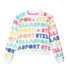 Sweat-shirt imprimé adidas STELLASPORT Mode Femme 3e11aca2db7