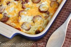 Mommy's Kitchen - Old Fashioned  Country Style Cooking: Weekend Company Breakfast Casserole