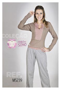 Pijama Inverno www.tribodosono.com.br
