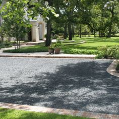 Pea Gravel Driveway Design Ideas, Pictures, Remodel, and Decor