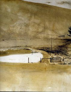 Andrew Wyeth Watercolor Paintings | http://www.andrewwyeth.com/