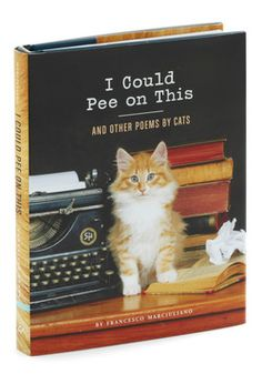 I Could Pee on This and Other Poems by Cats, #ModCloth @Jamie West