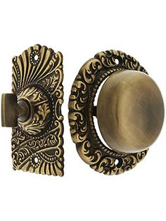 Roanoke Mechanical Doorbell in Antique-By-Hand Finish | House of Antique Hardware