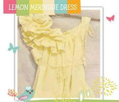 5e10e4b4fadf4 Lemon Meringue Maternity Dress, Light Yellow, Ruffled, Bow, Baby Shower,  Knee, Tall, Midi, Maxi Length, Custom, Patisserie, Womens