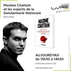 Rencontre avec Maxime Chattam au #SDL2015