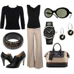 Chic and classy business casual