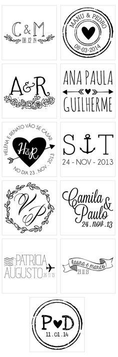 Wedding planning logo fonts for 2019 Wedding Logos, Monogram Wedding, Wedding Stationary, Wedding Cards, Diy Wedding, Dream Wedding, Wedding Invitations, Trendy Wedding, Image Deco