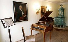 Mozart's home... maybe you'll find a little musical inspiration in here... just don't touch the piano.