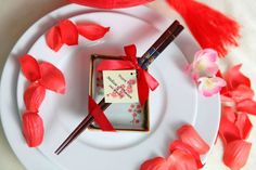 wedding chopsticks favors, chinese wedding favors Malaysia, Singapore