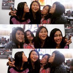 Who runs the world? GIRLS!! #jitunews #jitunewscrew #officemate #girls #friends #tbt