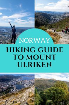 Hiking Mount Ulriken, Bergen is something you don't want to miss on your trip to #Norway! This guide includes a map, video and an FAQ about the Ulriken Hike, so make sure you read it before you go! #VisitNorway #Bergen #Hiking