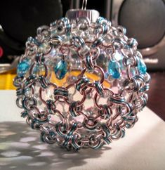 Eight2Many: Chainmail Christmas Ornament