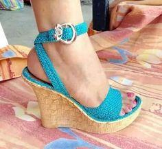 S Crochet Sandals, Crochet Boots, Crochet Slippers, Make Your Own Shoes, Crochet Flip Flops, Pearl Shoes, Knit Shoes, Peep Toe Shoes, Slipper Socks