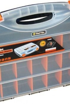 10-X-Am-Tech-380mm-Plastic-Storage-Box-Organiser-0